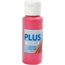 Plus Color-askartelumaali, 60 ml, primary red