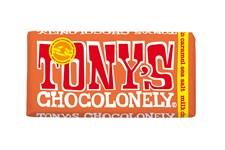 Tony´s Choklad Milk Chocolate Caramel Seasalt 180 g
