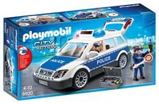 Polispatrull med ljus och ljud, Playmobil City Action (6920)