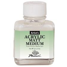 Akryl matt målarmedium 75ml