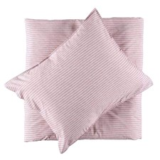 Gripsholm Bäddset Percale Lydia Rosa 150x210+50x60 cm