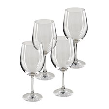 Modern House Pure & Simple Rödvinsglas 4-pack Klar
