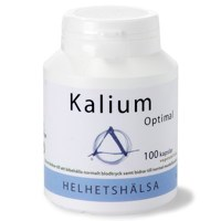 Helhetshälsa Kalium Optimal, 100 kapslar