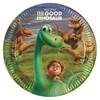 Den gode dinosaur, Papptallerkener, 23 cm, 8 stk.