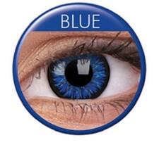 Fargede linser glamour blå