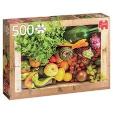 Fruit and vegetable box, Pussel 500 bitar, Jumbo