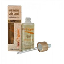 TanOrganic Facial Self Tan Oil 50ml