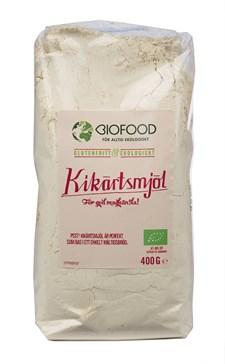 Biofood Kikärtsmjöl 400 g Ekologisk