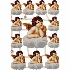 Bokmärken Nostalgiska Änglar 16,5x23,5 cm 3 Ark