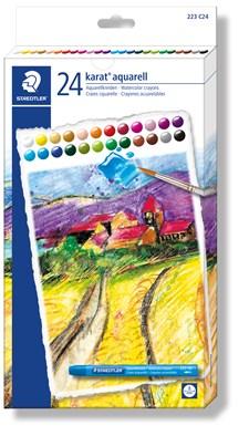 Karat® akvarellstifter 24-pk