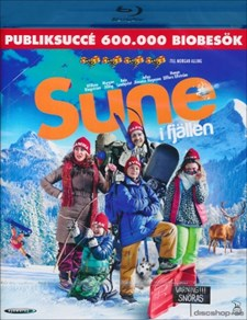 Sune i fjällen (Blu-ray)