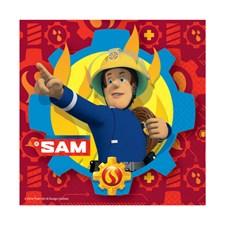 Brandman Sam servetter, 20 st
