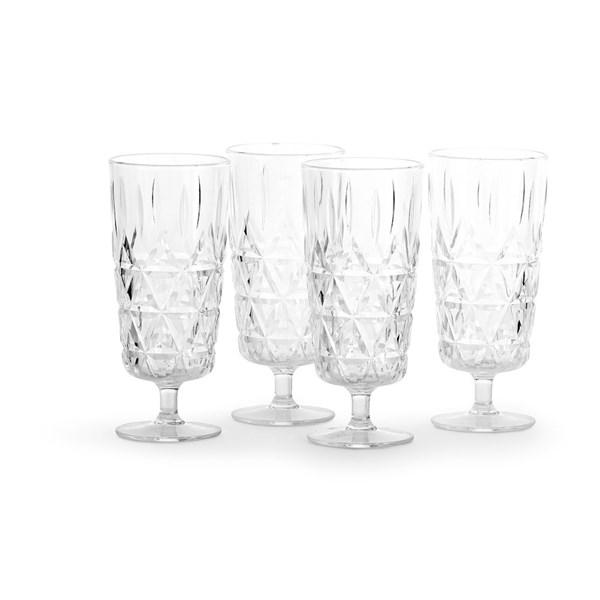 Sagaform Picnic Champagneglas 4-pack (klar) - glas