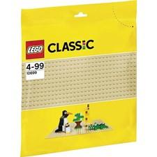 Hiekanvärinen rakennuslevy, Lego Klossar (10699)