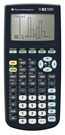 Texas TI-82 STATS graafinen laskin