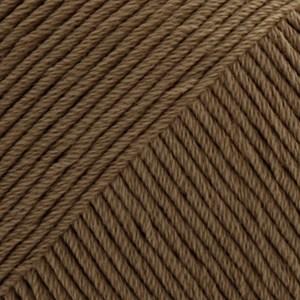 Drops Safran Garn Bomull 50 g brun 23