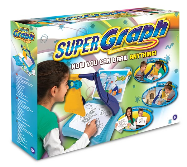 SuperGraph, Målarset