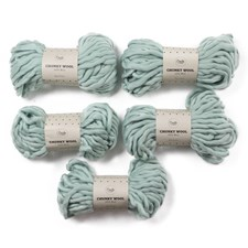 Adlibris Chunky Wool Garn 200g Sea Green A133 5-pack