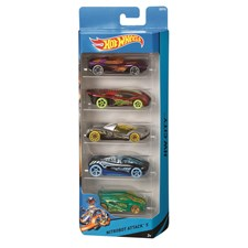 Biler, 5-pack, Hot Wheels
