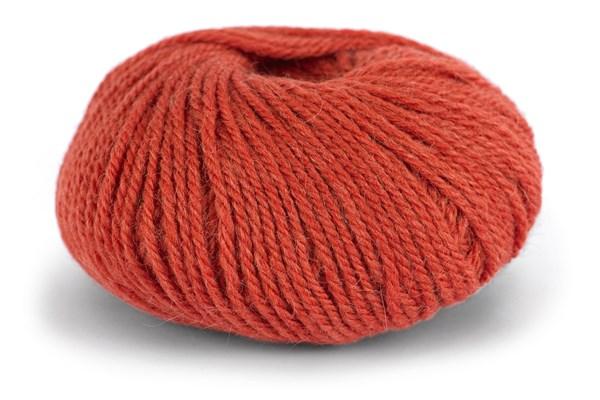 Knit At Home Chunky Alpaca Wool Ullmix 50 g Brent Oransje 616