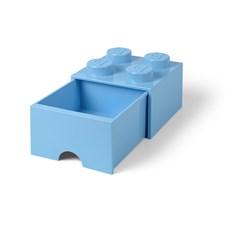 Lego Förvaringslåda 4, Ljusblå