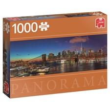Hudson Bridge, Panorama-puslespill, 1000 brikker, Jumbo