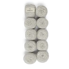 Adlibris Felting Wool 100g Light Grey Melange A113 10-pack