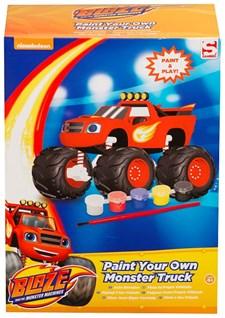 Paint Your Own Monster Truck, Blaze och Monstermaskinerna