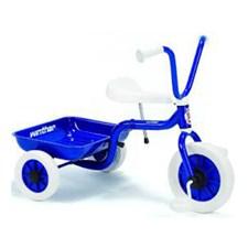 Klassisk trehjulssykkel, Blå, Winther