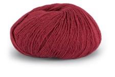 Knit At Home Superfine Alpaca Merino Garn Ullmix 50 g Vinrød 128