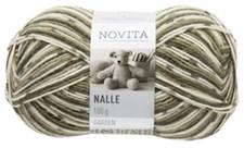 Novita, Nalle Garden, Garn, Ullmiks, 100 g, Skjegglav 843