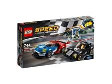 2016 Ford GT och 1966 Ford GT40, LEGO Speed Champions (75881)
