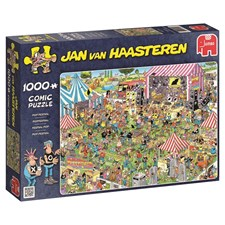 Jan van Haasteren, Pop-festival, Puslespill, 1000 brikker
