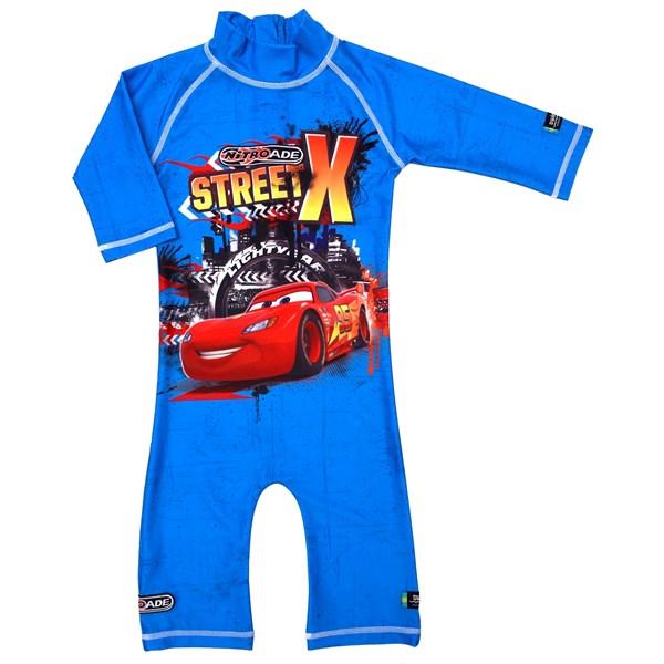 UV-dräkt Cars  Blå  98-104 cl  Swimpy  Disney - badkläder & uv-kläder