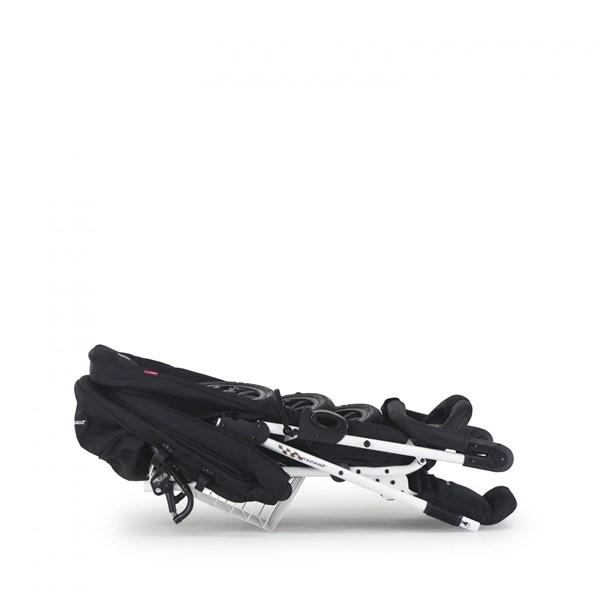 Sittvagn Compact XT Air Black/White Leatherette, Crescent