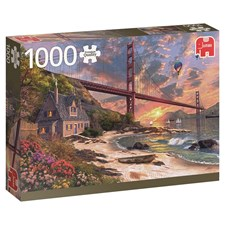 Golden Gate Bridge, Pussel 1000 bitar, Jumbo