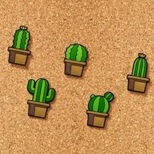 Häftstift Kaktusar 5-pack