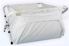 BiBaBad Flexi badkar, 80-100 cm Vit