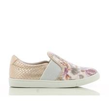Slip-on sko, Rosa/Blommigt, strl 34, Sprox
