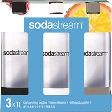 Sodastream PET-pullo 1 L 3 kpl Muovi