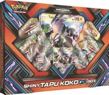 Poke Box Shiny Tapu Koko-GX, Pokémon