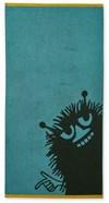 Stinky Bomull Håndkle Petrol/Svart 70x140