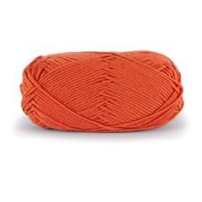 Dale Garn Lerke Ull Bomull Mix 50 g Oransje 3217