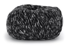 Knit At Home Soft Superkid Garn Mohair Ullmix 50 g Antracit/Grå Melange 1004