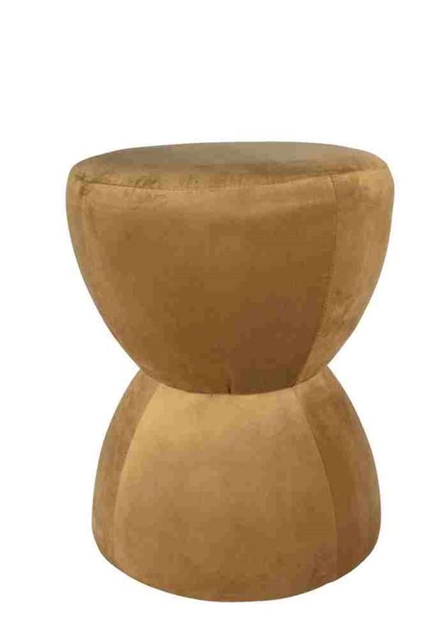 Day Home Sittpuff Bongo Höjd 52 cm Diameter 42 cm Mustard