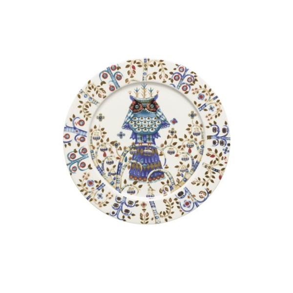 Iittala Taika Tallrik 27 cm Vit - tallrikar & skålar