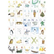 Ellens Alfabetsaffisch