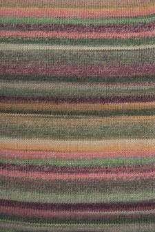 Rico Creative Melange Chunky Garn Ullmix 50g Purple-Green 050