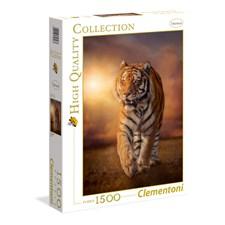 Tiger Puslespill 1500 biter Clementoni