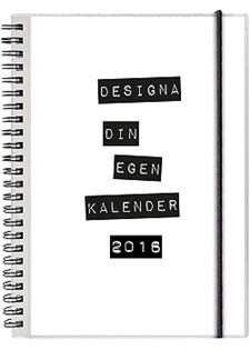 Kalender 2016 Utbytbar Framsida Spiralbunden A5